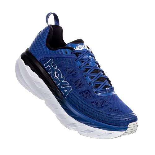 Hoka One One Bondi 6 Men's Wide EE Galaxy Blue Anthracite 1019271 GBAN