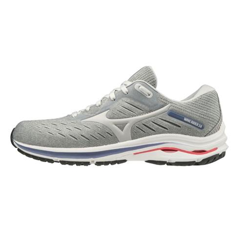 Mizuno Wave Rider 24 Women's Running Lunar Rock-Nimbus Cloud 411228.9R0A