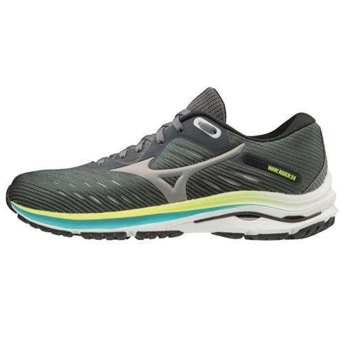 Mizuno Wave Rider 24 Women's Running Wide D Castlerock-Phantom 411230.979S