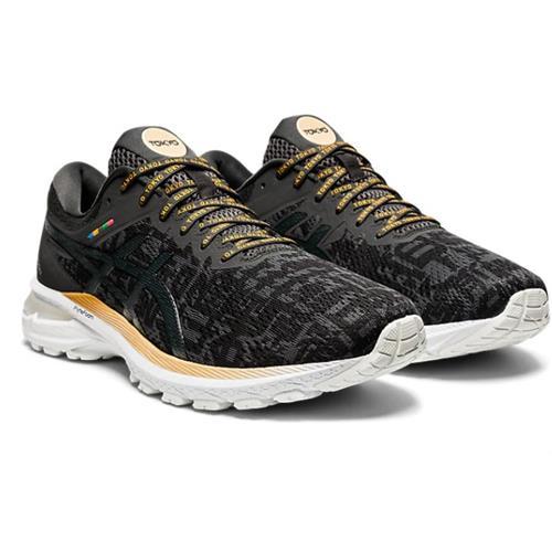 Asics GT-2000 8 Sound Tokyo Men's Running Shoe Black Graphite Grey 1011B070 001