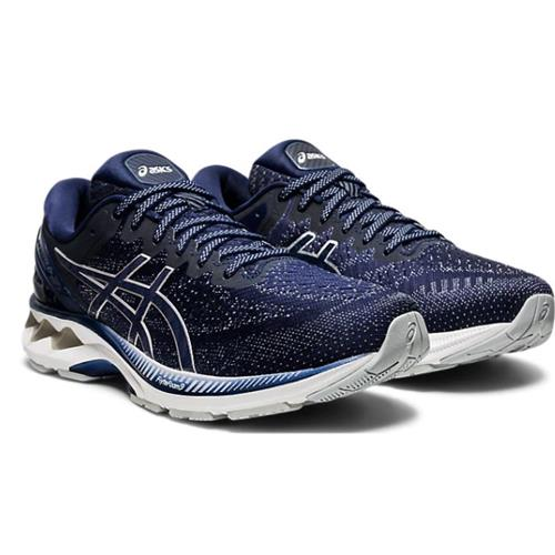 Asics Gel Kayano 27 Men's Running Shoe Peacoat Piedmont Grey 1011A767 400