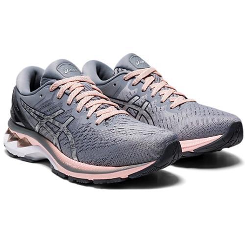 Asics Gel Kayano 27 Women's Running Wide D Sheet Rock Pure Silver 1012A713 020
