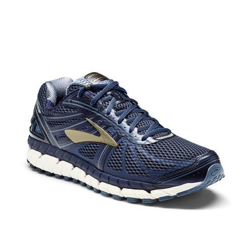 Brooks Beast '16 Men's Running Wide 4E Peacoat Navy China Blue Gold 1102274E413