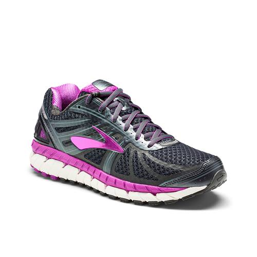 Brooks Ariel '16 Women's Running Anthracite Purple Cactus Flower Primer Grey 1202191B059