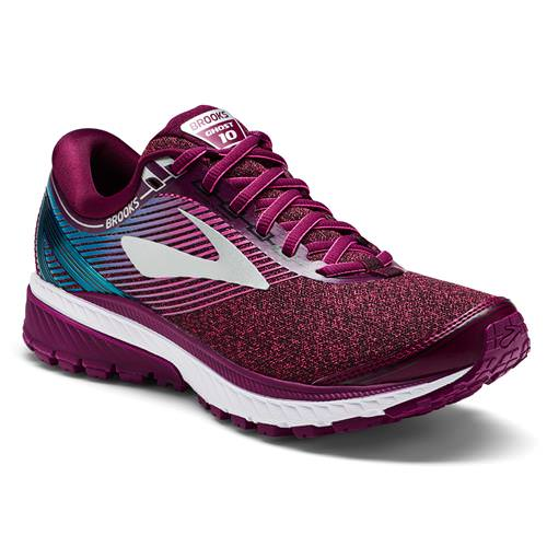 Brooks Ghost 10 Women's Running Purple Pink Teal 1202461B511