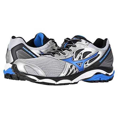 Mizuno Wave Inspire 14 Men's Running Shoes Wide EE Silver Directoire Blue 410984.735N