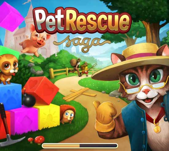 Games similar or like Candy Crush Saga -  Pet-Rescue-Saga