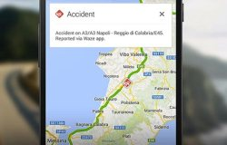 Google maps real time incident report