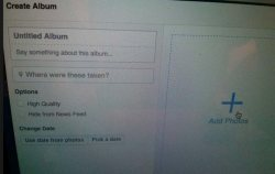 How to upload picture on FB