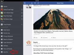 Candy-Crush-Saga-How-to-change-facebook-account-in-iOS-7-Step-2