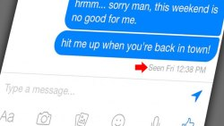 Facebook Chat Seen disable