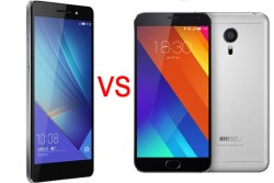 Meizu MX5 VS Huawei Honor 7