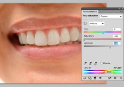 Whitening Teeth using Photoshop