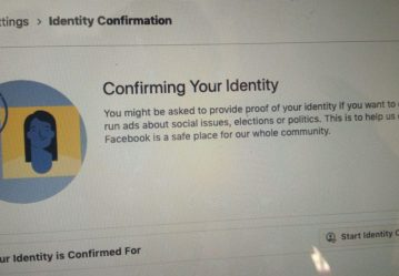 Extra Layer of Security Through Identity Confirmation For Your Facebook Account