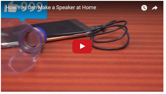 How You Can Make a Speaker at Home