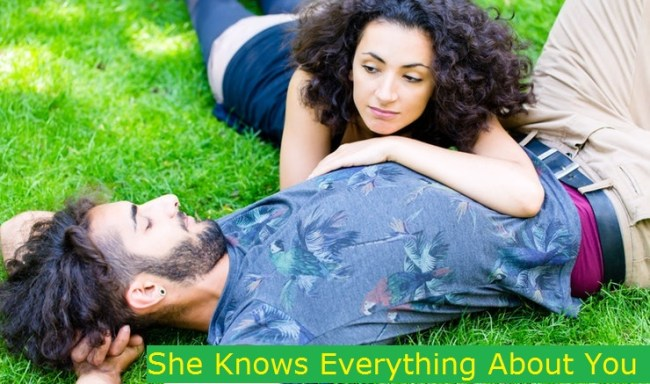She Knows Everything About You