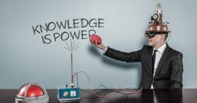 Knowledge power concept