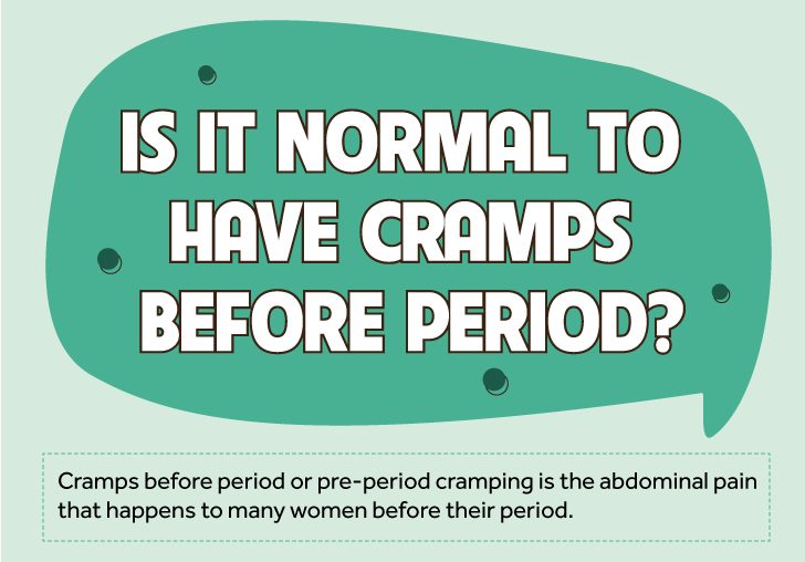 How To Deal With Cramps Before Period Effectively