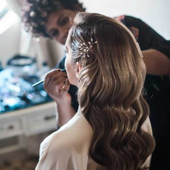 venčane frizure