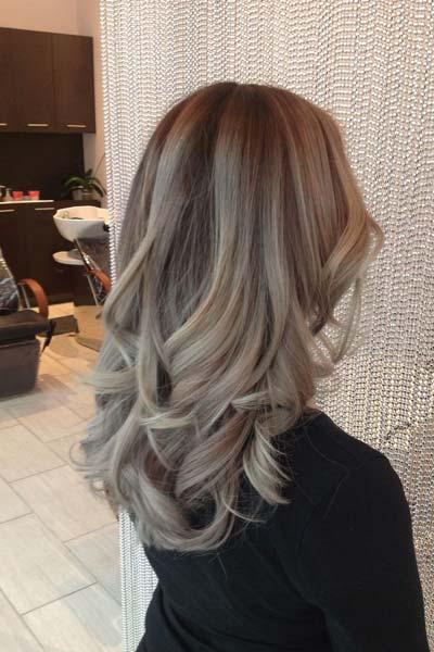 pepeljasta frizura