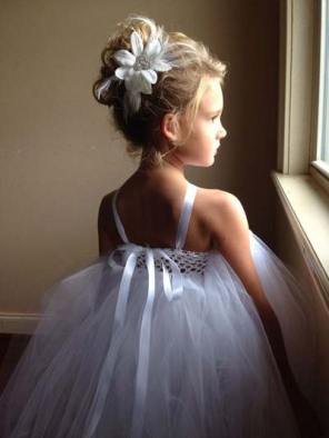 svečana frizura za malu devojčicu