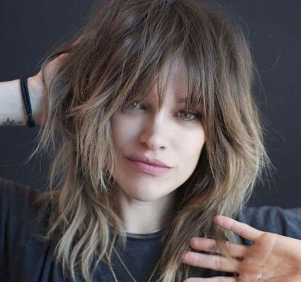 agresivno stepenasta frizura