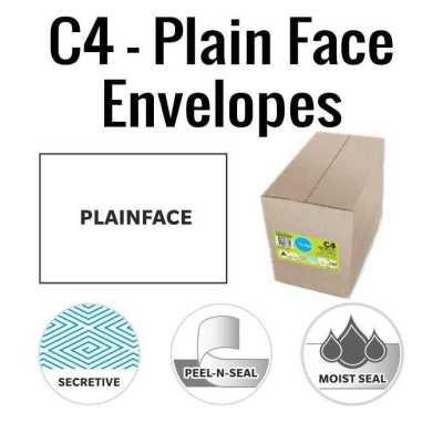 C4 Plain Face envelopes Banner 1
