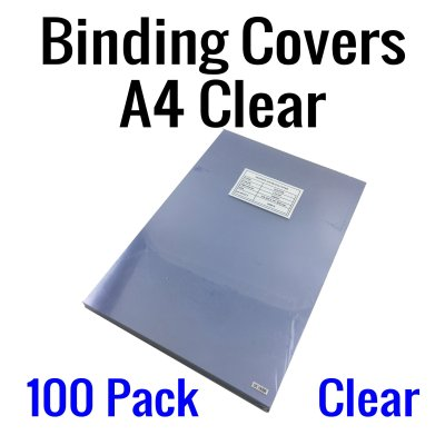 Binding cover A4 Clear