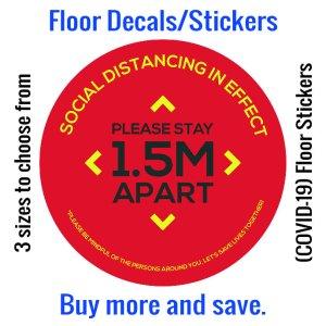 Coronavirus (COVID-19) Floor Sticker – 05
