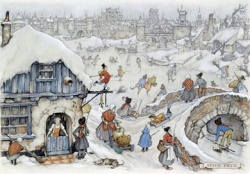 Anton Pieck Eftepedia Alles Over De Efteling