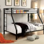 Nottingham Extra Long Twin Over Queen Metal Bunk Bed