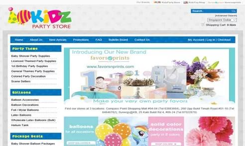 Kidz Party Store