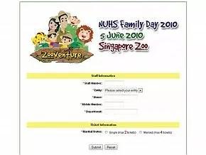 NUHS Family Day 2010