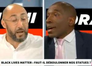 Déboulonnage des statues : Morandini organise un débat Noir contre Arabe