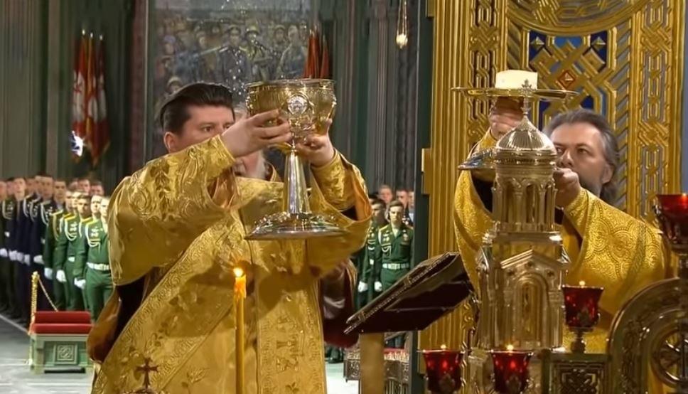 Le Patriarche orthodoxe de Moscou consacre la cathédrale militaire de la Résurrection du Christ
