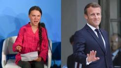 Rabaissements : Hollande avait répondu à Leonarda, Macron répond à Greta Thunberg