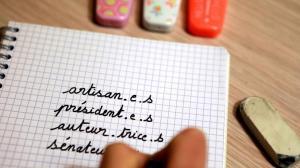 Jean-Michel Blanquer interdit officiellement l'écriture inclusive à l'école