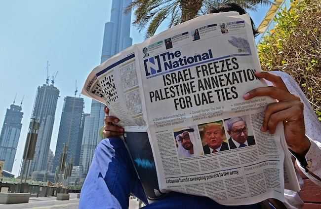 """Israël et les Émirats signent les """"Accords d'Abraham"""""""