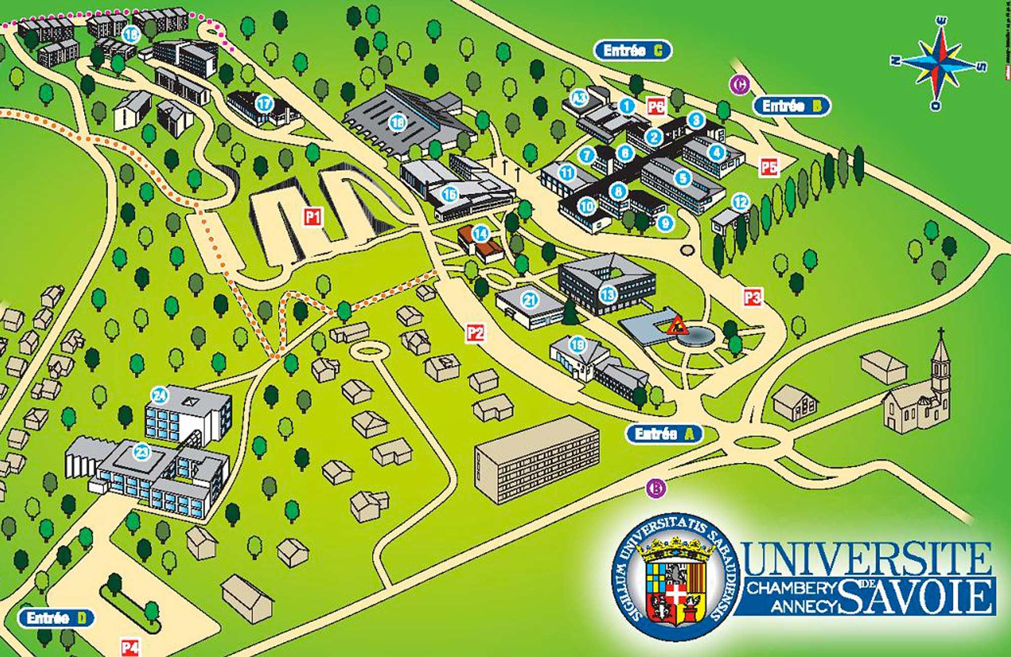 Universit De Savoie Amphittre Et Salles De Cours