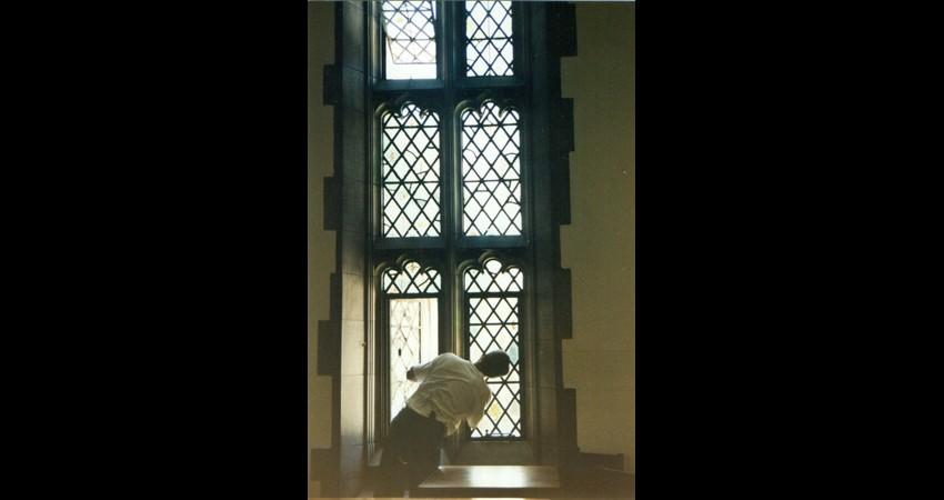 Hart House University of Toronto EGD Glass Restoration - Window Repair