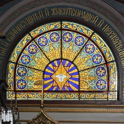 Holy Trinity Russian Orthodox Cathedral EGD Glass Stained glass Restoration