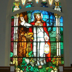Leaside United Church Toronto EDG Glass Reclamation portfolio reclaimed stained glass window