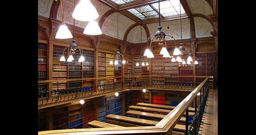 Osgoode Hall Law Society Toronto Ontario EGD Glass Restoration Library