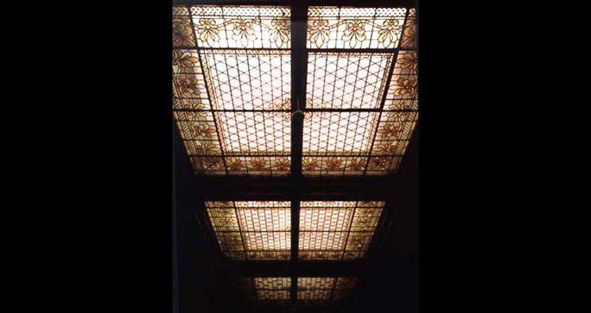 Osgoode Hall Law Society Toronto Ontario EGD Glass Restoration Library Skylight