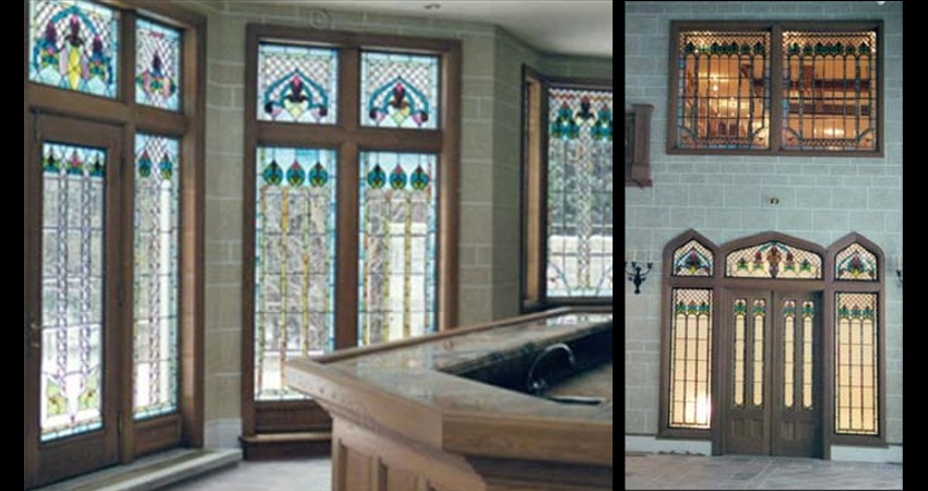 Private Residence Historical Replication Toronto EGD Glass New Work Windows