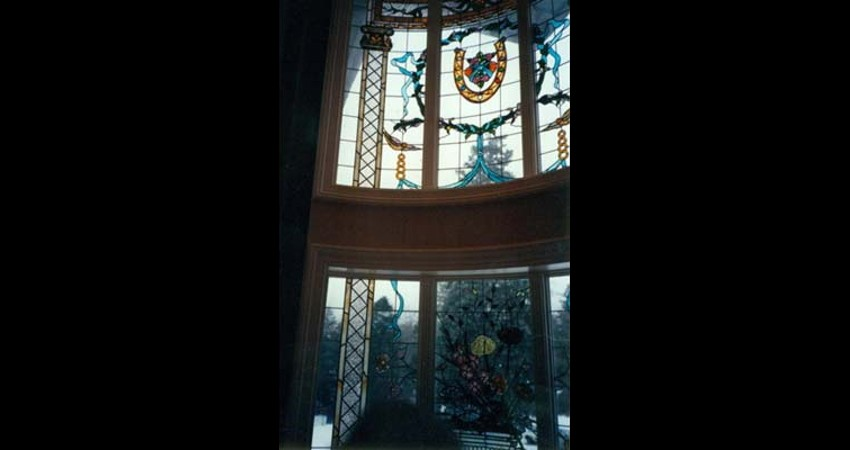 Private-residence-oakville-stained-glass