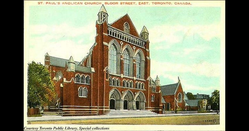 St. Paul's Anglican Church Toronto Ontario EGD Glass Restoration