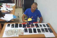 ضبط لصا تخصص فى سرقة الهواتف المحمولة |