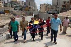 انتهاء أعمال تطوير نفق كليوباترا بالاسكندرية خلال ١٥ يوم |