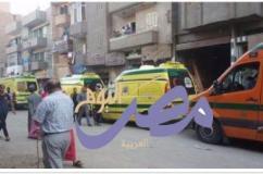 مصرع واصابه اشخاص في انفجار اسطوانة بوتاجاز بمنزل فى قرية  